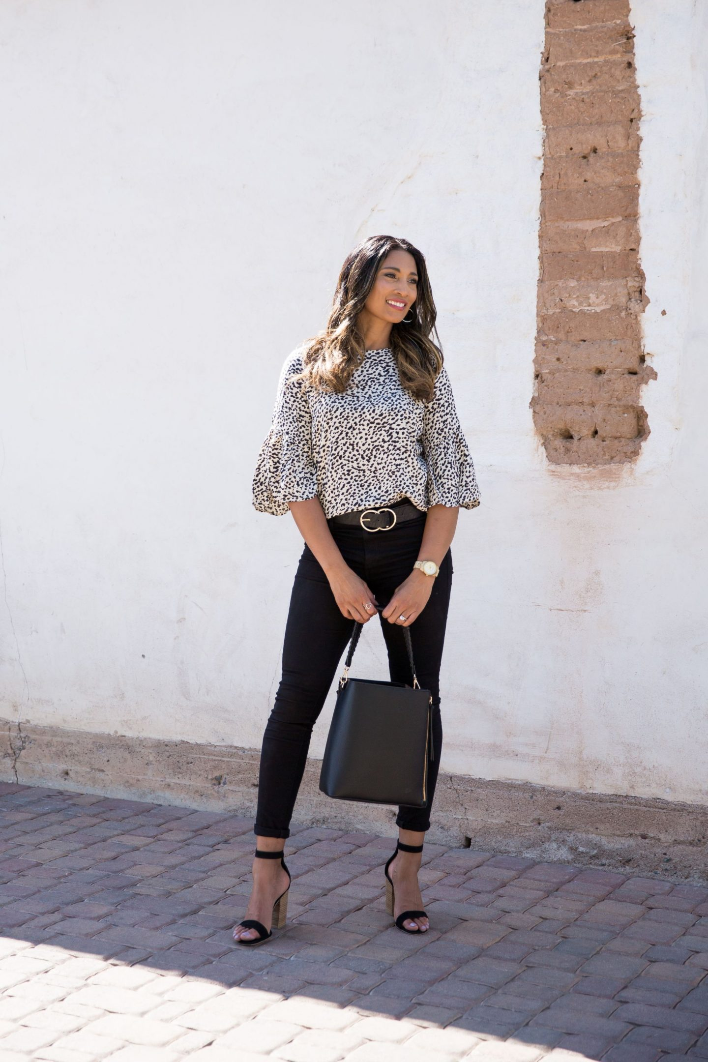 CHEETAH PRINT, WORK BLOUSE, OUTFIT INSPO, CASUAL LOOK, FALL FASHION, FALL LOOK, FALL STYLE
