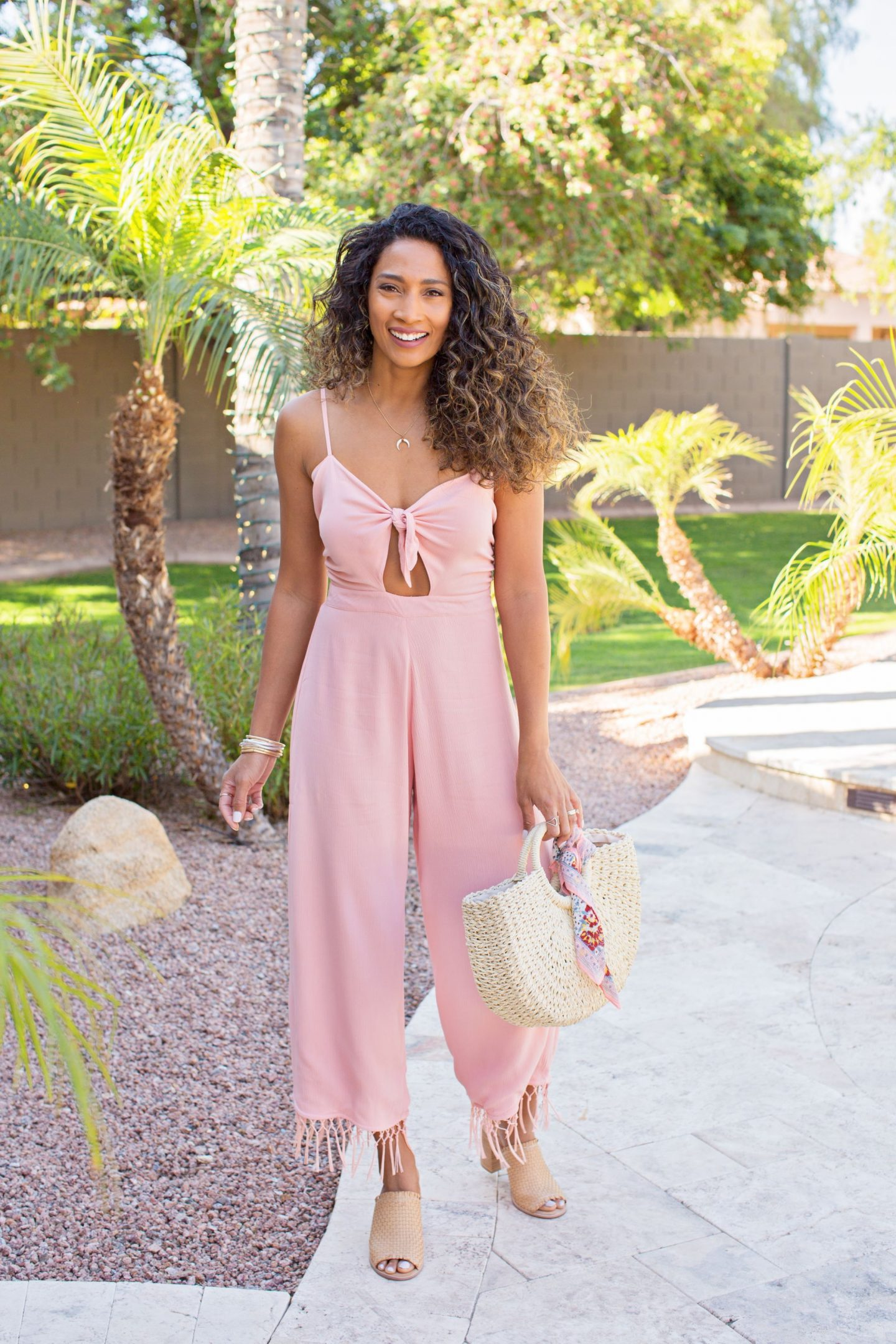 JUMPSUIT, SPRING STYLE, PINK JUMPER, SUMMER LOOKS