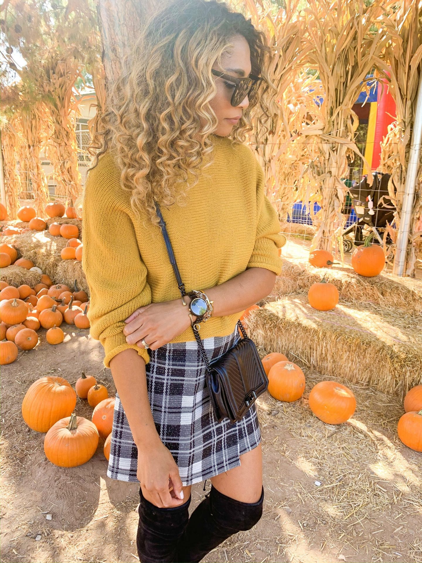 HOW TO STYLE PLAID FOR FALL