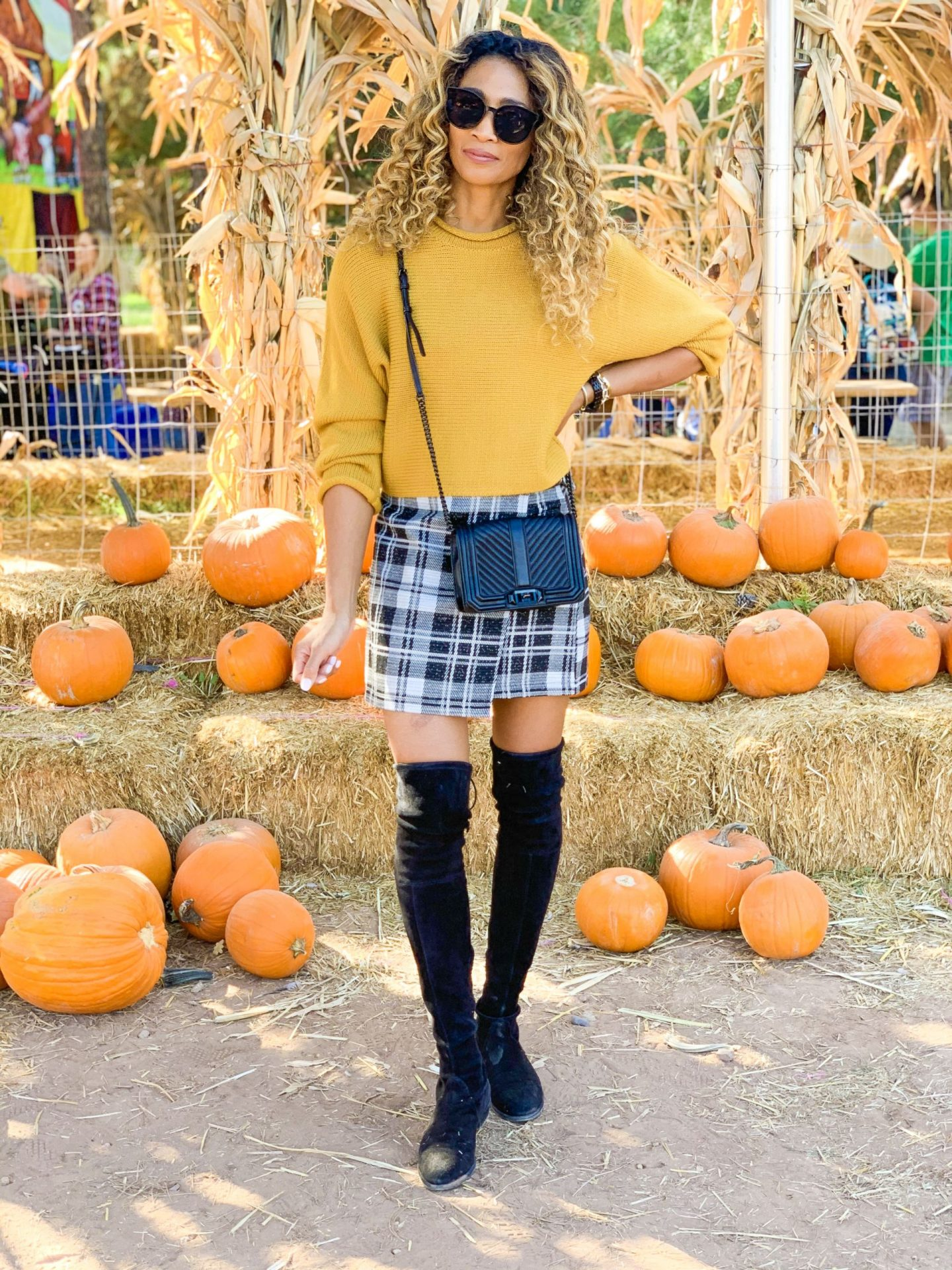 PLAID SKIRTS FOR FALL