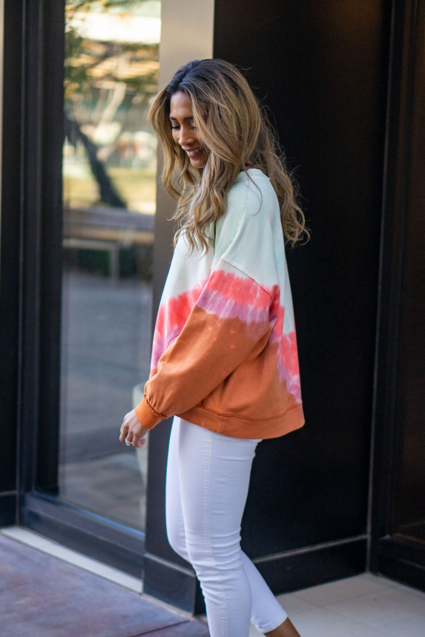 TIE DYED WOMENS TOP