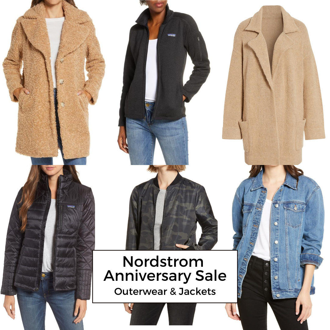 Nordstrom Anniversary sale OUterwear and Jackets