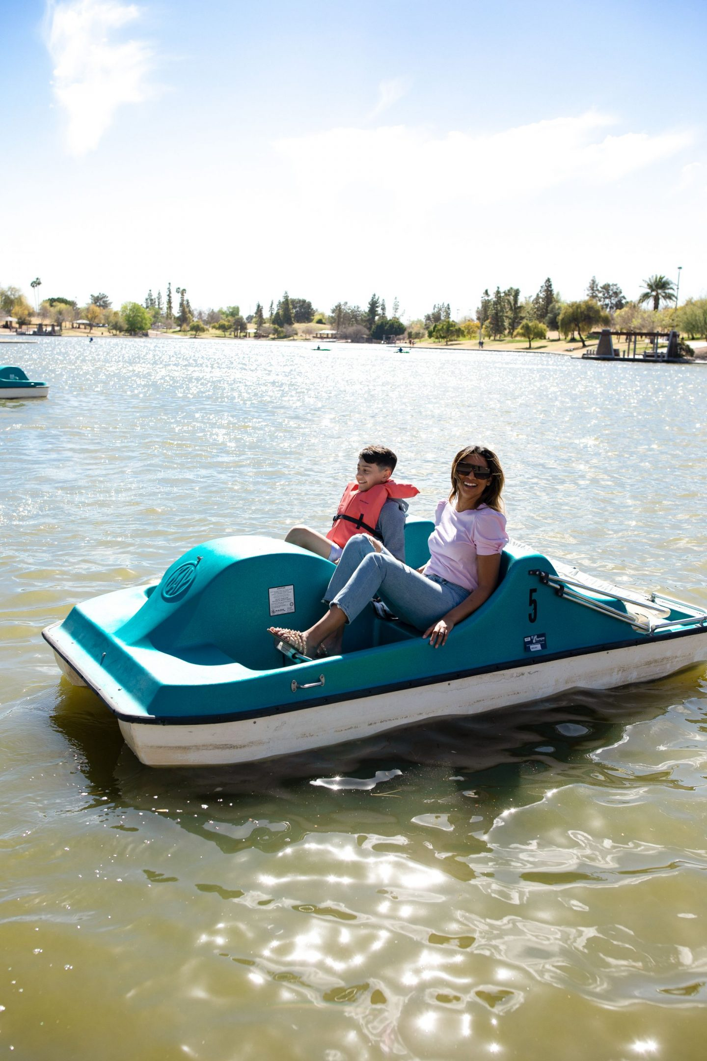 Kiwanis Lake Tempe AZ